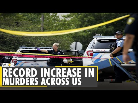 Homicide numbers continue to rise in major American cities | Latest English News | World | WION