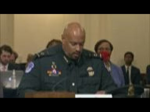Capitol Hill officer tells of racial slurs in riot